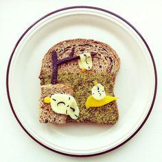 Art Toast Project By Ida Skivenes http://avaxnews.net/wow/art_toast_project_by_ida_skivenes.html