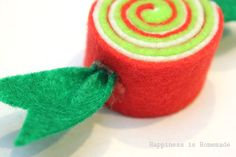 Felt Candy Ornaments + 35 Ways to Trim the Tree - Happiness is Homemade