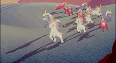 Unicorns from Fantasia GIF