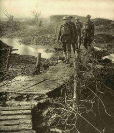WW1. Flanders 1917