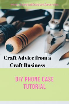 I couldn't find at phone cover for my phone that I liked so I made one! Here is how I did it so you can make your own as well #claireyfairymakes #sewingideas #sewingpattern Business Goals, Business Advice, Online Business, Business Education, Business Management, Business Branding, Decoupage Letters, 7 Places, Craft Online