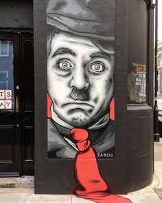 Nuevo de @zabouartist en Londres (http://globalstreetart.com/zabou)