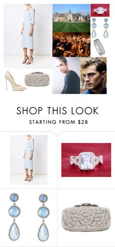 """""""ROYAL CROSSOVER & FLASHBACK: Attending a concert at the palace"""" by hrh-amelia-of-croatia ❤ liked on Polyvore featuring Roland Mouret, Biltmore, ADORNIA, Casadei and Oscar de la Renta"""