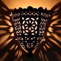 Messing wandlampe asmar orientalische lampen maghreb art dream love sleep pinterest - Orientalische wandgestaltung ...