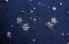 Tips on taking pictures of snowflakes