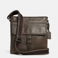 The Sport Field Bag In Leather from Coach