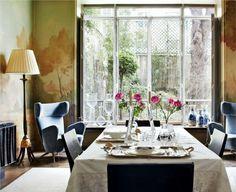 Domenique Mora : Stefano Pilati's Eclectic Paris Duplex