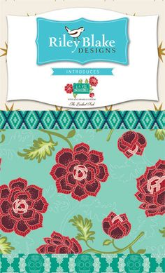 La Vie Boheme FREE SHIPPING Fat Quarter bundle by the Quilted Fish for Riley…