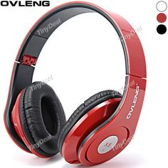 OVLENG X8 Folding Portable Stereo Headsets Headphone with 3.5mm Audio Cable for  Laptop Phone Pad MP3 EEP-336797
