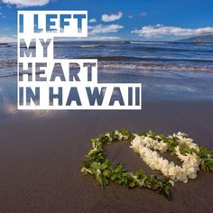 I Left My Heart In Hawaii