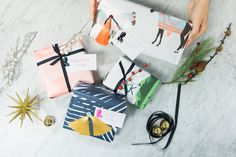 Add a little fun to your gift wrapping this year! #ontheblog
