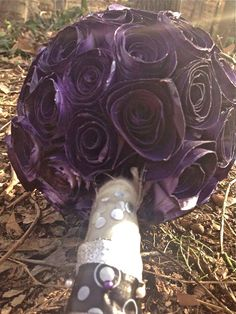 A personal favorite from my Etsy shop https://www.etsy.com/listing/267357052/purple-hombre-bouquet