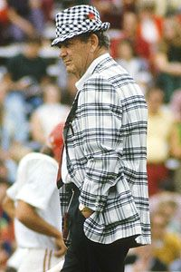 Bear Bryant changed the face of college football while at Alabama