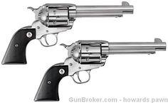 "Ruger SASS Vaquero Pair 45 Colt 5.5"" SS NEW $1200.00"