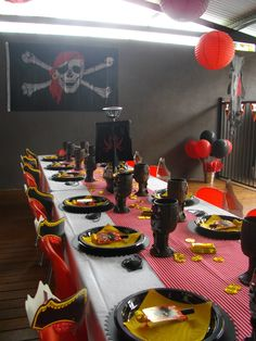Pirate Themed Party,   www.sassykidsparties.com.au