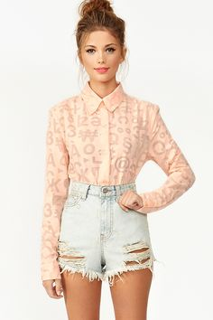 Glitch Blouse  AU$64.78