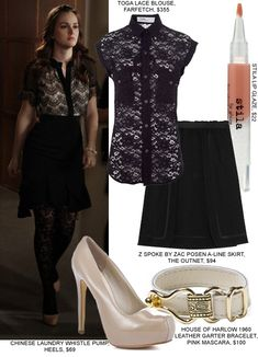 Gossip Girl Fashion: Copy Blair Waldorf's Lacy Look Gossip Girl Blair, Gossip Girls, Estilo Gossip Girl, Gossip Girl Outfits, Gossip Girl Fashion, Love Fashion, Trendy Fashion, Trendy Style, Fashion Ideas