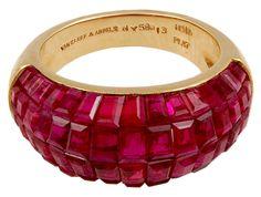 VAN CLEEF & ARPELS Mystery Set Ruby Ring image 2