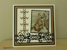 Plaatje: Syta van Gelderen Embossing folder: Marianne Design DF3418  Stans: Joy 6002/0302