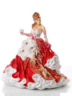 Congratulations Ruby - Fine Bone China Figurine – The English Ladies Figurines Co.