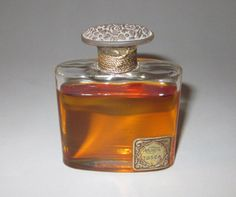 Rare Vintage (unused) Rene R Lalique 4711 'Tosca' perfume bottle from Germany 1920 | eBay