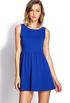Classic Fit & Flare Dress   FOREVER 21 - 2000064385