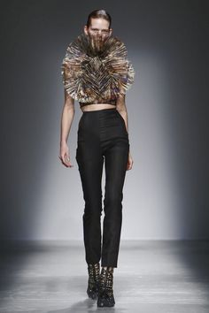 Iris Van Herpen Ready To Wear Fall Winter 2015 Paris - NOWFASHION