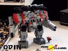 LEGO Starcraft Odin(1) By Remi Claudel - Work In Progress | Flickr - Photo Sharing!