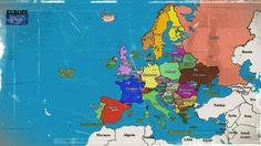 #MAP #EUROPE #OLD #STATES