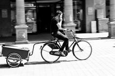 [phone, bike, cart] by Benjamin Samson on 500px