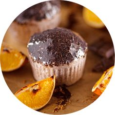 Bath Chocolate Muffins with Chocolate Sprinkles