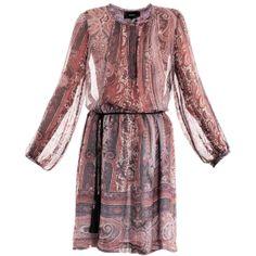 Isabel Marant Sofia paisley-print dress ($1,335) ❤ liked on Polyvore