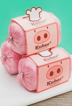 Adorable packaging, Kuber by Bunker Media. #packaging #illustration #graphicdesign