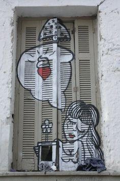 Sonke - Street artist #graffiti