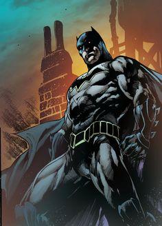 Batman 6 Rebirth Ivan Reis