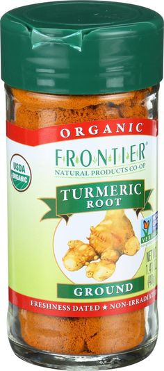 Frontier Herb Turmeric Root - Organic - Ground - 1.41 oz