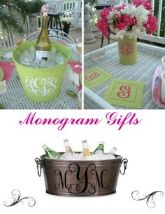 The High Heeled Hostess: Monograms Galore