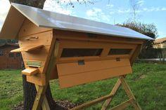 Construire sa propre ruche en palettes - La maison écologique