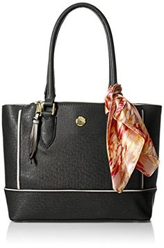 London Fog Rita Satchel Black -- Want to know more, click on the image.