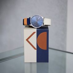 KOMONO Winston Heritage Multitone Orange. Available at komono.com and retailers worldwide. #komono #watches