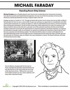 Meet Michael Faraday, the inventor of the first electric motor. Without Faraday, who knows if we would even have working cars, airplanes or even clocks! Science Chemistry, Weird Science, Science Ideas, Fourth Grade Science, High School Science, Social Studies Notebook, Teaching Social Studies, History Education, Teaching History