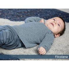 Elliot - Gratis Pdf Strikkeopskrift På B - Diy Crafts Knitting For Kids, Baby Knitting Patterns, Free Knitting, Baby Pullover, Baby Cardigan, Diy Crafts New, Baby Barn, Designer Baby, Baby Sweaters