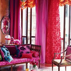 Designers Guild...Hello Fabulous.I suddenly want a cosmopolitan and to move into this room:-)♥♥♥