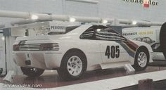Peugeot 405 Turbo 16 Coupe 1987