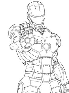 Ironman coloring pages to print - Enjoy Coloring: