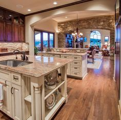 Open Kitchen Floor Plans | ... open floor plan. Photo courtesy of St ...