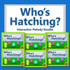 Watch your elementary music student's eyes light up as the egg hatches when they select the correct melody! They will be begging to play the interactive melodic games again! An engaging music resource for the elementary music classroom!