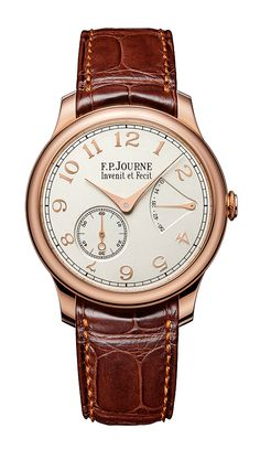 Montres Journe Introduces Solid Gold Dials on 3 New F.P. Journe Watches › WatchTime - USA's No.1 Watch Magazine