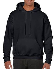 Gildan Men's Heavy Blend Fleece Hooded Sweatshirt Cotton, Polyester Imported Pull On closure Machine Wash Preshrunk fleece knit Cotton, Polyester) Air jet yarn = softer feel and reduced pilling Double-lined hood with color-matched drawcord Mens Big And Tall, Big Men, Look Athleisure, Men's Fashion, Fashion Deals, Fashion Women, Baggy, Mens Fleece, Thin Blue Lines