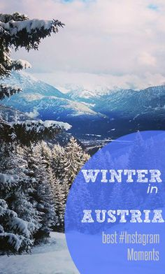 Winter in Austria - Click here to see more awesome pictures about our favorite season - Instagram Moments at cityseacountry.com